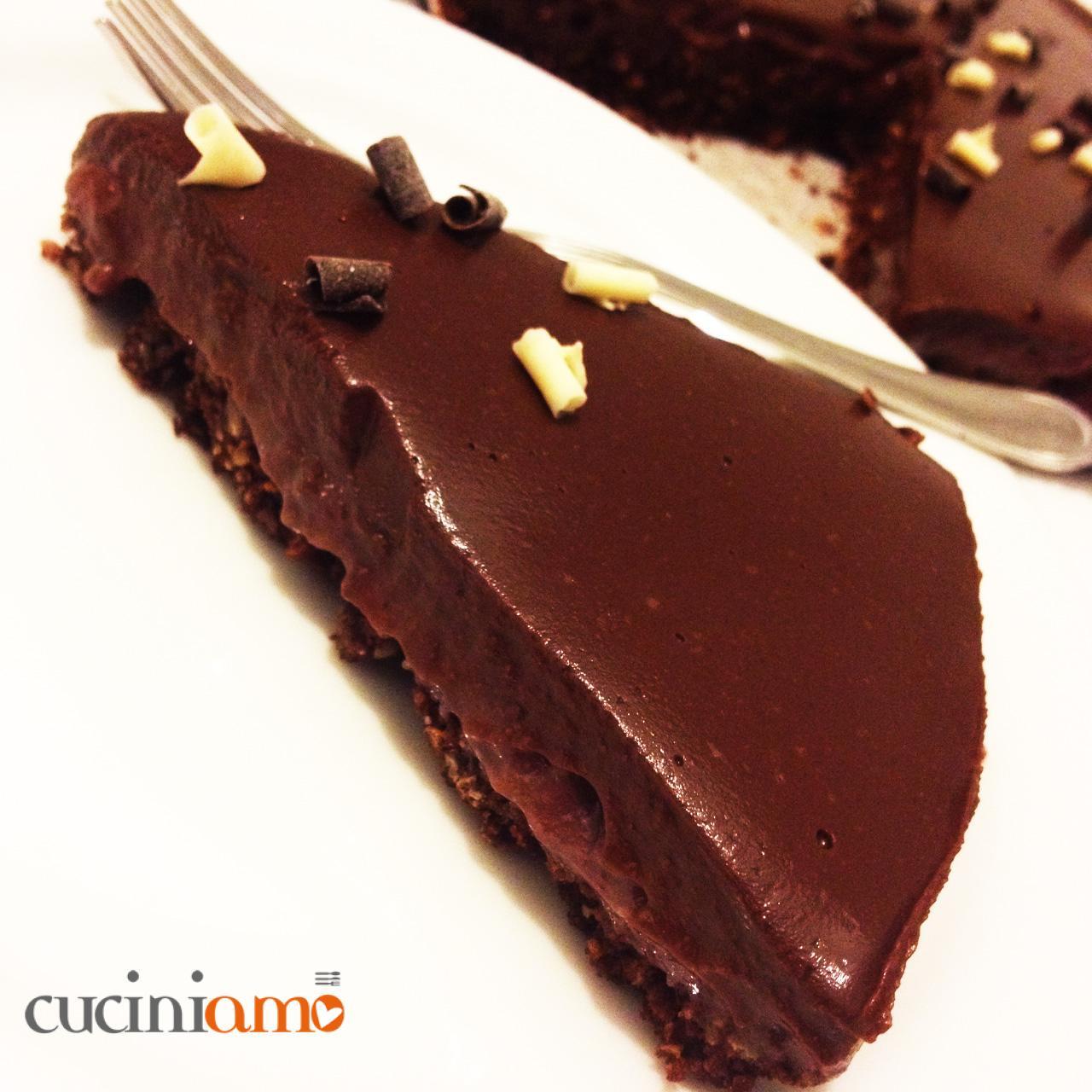 Torta Golosa Lamponi E Cioccolato Vegana Cuciniamo